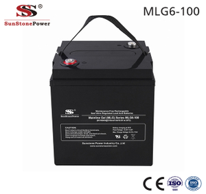 Sunstone Power Lead Acid Battery 6V 100AH Solar Gelbatterie